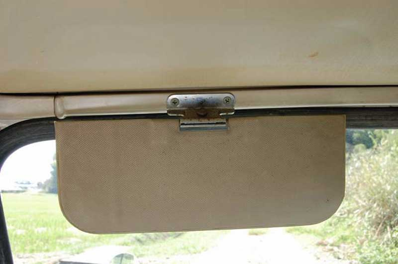 All 59 built cars had this style of centre hinged sun visor fitted a5540520b5d