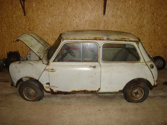 Number 108 1959 Mini Going To Auction 1959 Mini Register